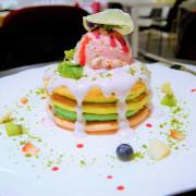 【台北東區 | 甜點】隱藏版粉嫩少女系彩虹鬆餅♥Joanne Lee Cake Design