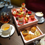 Cocoon 池畔酒吧 ♥ 美福大飯店 ♥ 少女心爆發的珠寶盒甜點 ♥ 池畔雙人下午茶
