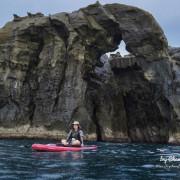 新北市//瑞芳//划SUP從海上看象鼻岩