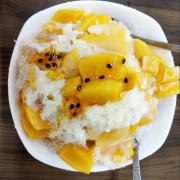 [台中] 嘉良冰鎮店 太平老字號冰店 三種冰木瓜牛奶芒果冰都好吃