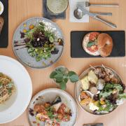 森渡手作 台中西區餐廳推薦 簡單、清新、愜意、美味,位於精誠路巷弄內的異國雙人手作料理