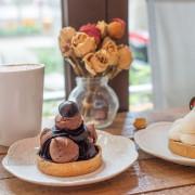 《Cup`o Story 手作塔皮點心》捷運下的童話甜點咖啡店 - 卡琳。摸魚兒趣