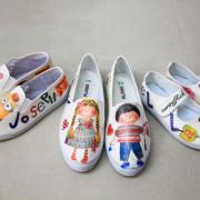 【宜蘭景點】做一雙獨一無二的親子鞋。白葉陳創意工作室。宜蘭酒廠