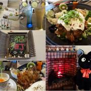 《新竹》貓町-日式.洋食.創意料理~厚切燒肉飯大口吃肉超過癮!友善寵物/親子,超多貓咪擺設讓人尖叫!還有知名翔琪檸檬茶唷