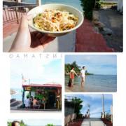 【墾丁海景美食】來萬里桐阿嬤麵店,給你最好的海景,異國般的美麗秘境