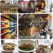 【台中】CMYK GALLERY・新開幕!結合藝廊、畫畫、餐飲的複合式空間~好吃好拍