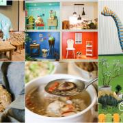 【台南白河】美雅家具觀光工廠X花園廚房 DIY實木小玩具
