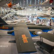  高雄‧岡山 航空教育展示館,亞洲首座懸吊國寶級戰機展示館,41架軍戰機等著你 - 阿婷的旅行札記。