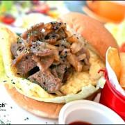【101世貿早午餐/美式餐廳/早餐/漢堡 推薦】高cp值吃堡飽!! ✿✿ 厚。brunch ✿✿ (完整菜單)