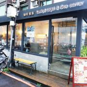 【洋食】台北大安 Lucky5 Light Cafe 國父紀念館輕食下午茶 鬆餅外脆內軟 Q彈好吃