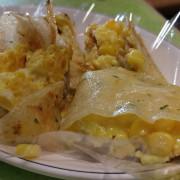 「來去吃早餐」蛋餅好香 店招三明治好吃@1999小柏小傑