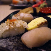 【台南.中西區】一緒燒 日式串燒居酒屋:炙燒鮭魚卷、串燒、握壽司,平價美味 日式家庭料理食堂