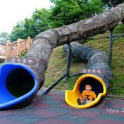 [台北親子遊]無料野放孩子景點!樹洞溜滑梯、玩水、運動玩樂一次滿足~錦和運動公園