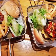 【新竹美食】北區-城隍廟附近美式餐廳《哇靠炭火牛排漢堡 plus 廟口店》~炭烤牛肉料理