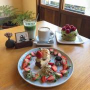 台中北屯區 · 甜點 | Overture序曲 | 抹茶控草莓控必吃甜點!目前還有草莓擺盤限定款蛋糕 ~