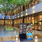 台中超美燒肉餐廳!隱藏在市中心的日式禪風漂亮水池,還能享有火烤兩吃!