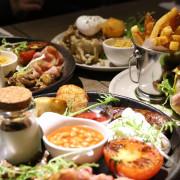 【Basil Le Bistrot】中正區。好澎湃!免出國也能享受傳統英式早午餐♥♥(忠孝新生站/華山文創園區)