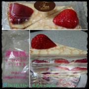{食記}{台南}{白河}鳳媽媽手製烘焙~季節限定草莓千層美美的
