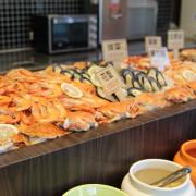 海鮮一粒粒,越吃越美麗