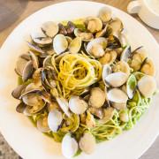 |食|台中西屯 隨便義大利麵 蛤蠣多到漫出來的義大利麵