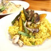【宜蘭美食】鹿野苑蔬食料理廚房 素食料理義大利麵燉飯
