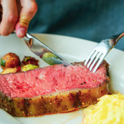 【Que原木燒烤】松山意舍酒店餐廳 17樓基隆河美景 視覺味覺雙重饗宴