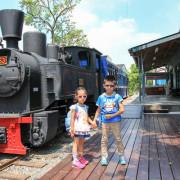 【高雄景點】旗山車站糖鐵故事館。乘坐動感火車,吃旗山限定的甘蔗冰,陪孩子尋老時光