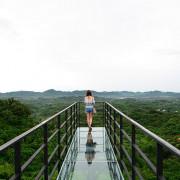 【台南│景點】採預約制入場,台南東山的另一處秘境,透明地板空中步道,當一秒鳥人吧!!。174翼騎士驛站