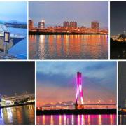 【台北旅遊】水上巴士夏季限定新店溪夜航-倒映在河中的波光粼粼