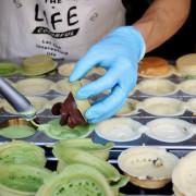 【台南美食】甜在心。紅豆餅-超爆漿紅豆餅.台南散步甜點