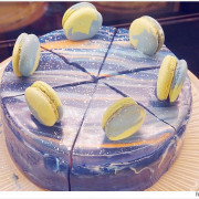 風雨珈琲 - 蛋糕上的小宇宙   開店立刻秒殺的星空蛋糕