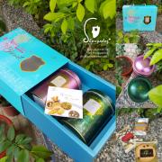 【烘焙西點】2018伊莎貝爾ISABELLE伴手禮午茶新品『法頌藍帶好事成雙禮盒』搶先體驗