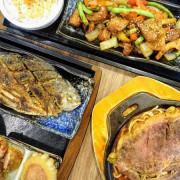 台北北投|大嘴巴牛排&日式定食~平價牛排、多樣定食一起吃!石牌商城CP值餐點新選擇~