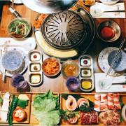 [台北公館]滋滋咕嚕쩝쩝꿀꺽韓式烤肉專門店|藝人納豆開的韓式料理燒烤、護心肉專門店|護心豬及極黑牛組合、特製海鮮煎餅、火山起司煉乳年糕、蔬菜燒烤綜合拼盤