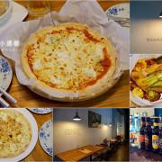 嘉義東區|手在小酒館。「沒有服務費 不要鬧事」乖乖的等美味披薩上桌吧!文化路夜市附近每週都會想來放鬆一下的義式料理小酒館