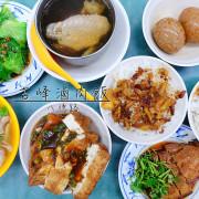 【台北美食】吉峰魯肉飯,把眼睛朦起來還真分不出是金峰還是吉峰!│八德路│滷肉飯│