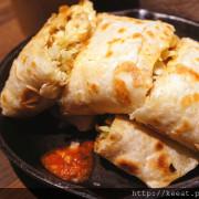 蛋餅就是要用小鐵鍋裝 還有平價好吃的漢堡哦-早吧Morning Bar@捷運士林站@華榮街市場