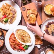 高雄美術館早午餐推薦,5號後院,2018新菜,必吃愛妻的餐,燉飯義大利麵一次雙重滿足!