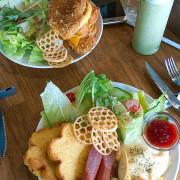【French Toast Factory】超吸晴花朵法式吐司☀ 大份量早午餐拼盤,美味豐盛大滿足