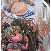台中石岡區景點))九房里漫遊童話3D互動式彩繪 & 0蛋月台地景彩繪