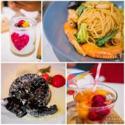 【新北】30 Thirty Café 原30義式小館 義大利麵、燉飯、薄皮披薩、手作甜點 復古工業風餐廳 大坪林站美食