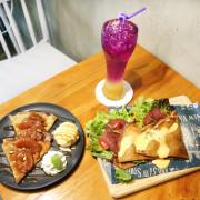 【台南下午茶】|正林烘焙坊|邊吃法式薄餅、邊看藝術展覽、享受悠閒時光!