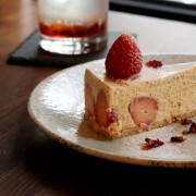 別所 Shelter 台北大同區,迷人草莓乳酪蛋糕。咖啡廳 /不限時 /民權西路站【男子的日常生活】