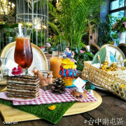 遇fun胃_Thaï.J夢幻花園餐酒館||台中美食||南屯區美食||家樂福大墩店美食 最浪漫的花園餐廳 和最美麗的伴侶一起共享泰式新食尚