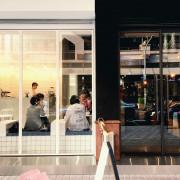 【桃園中壢】RL #新開店:黑與白簡約時尚空間X法式甜點與手作漢堡