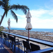 【台東TAITUNG-逐浪海景咖啡Wave Coffee】禾乃氏-擁有任意門的日子:夏天,來台東吧!點杯咖啡,慵懶的面向藍色太平洋,看著白色浪花的恣意追逐