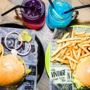 THE BurgeR HousE【桃園美食】 桃園八德美式漢堡餐廳;低調卻很有個性的漢堡店。