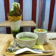 nanas green tea信義A8‧抹茶界星巴克來了~抹茶蛋糕百匯的華麗登場!!!