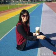 【台中景點】超夯彩虹跑道就在惠文國小@台中南屯