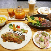 Five & Fantast 賽特廚房-台北大安站複合式餐廳  位師大附中對面  餐點選擇性高且品質好  鹹食甜點都讓人喜歡